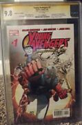Young Avengers 1 Directors Cut Cgc 9.8 Signed By Jim Chueng