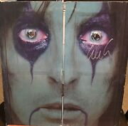 Alice Cooper Signed From The Inside Autographed Lp Album