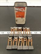 New Delco Remy D-751 38367 Set Of 10 Starter Motor Brushes Free Ship Bin50