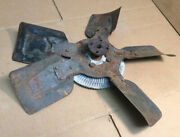 1980 And Other Ford Cooling Fan 5-blade 18 1/4 With Clutch H - E0me-da Oem