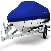 Msc Heavy Duty 600d Marine Grade Polyester Canvas Trailerable Waterproof Boat