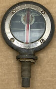 Antique Boyce Moto-meter Temperature Gauge/mirror Radiator Cap Hood Ornament