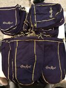 55 Crown Royal Liquor Bottle Bags - In Sizes - 40 750 Ml And 15 1.75 Lit
