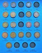 Coins From 1857-1909 Flying Eagle Cent / Indian Head Penny Folder Page 3 W1906