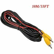 Backup Camera Rca Video Cablecar Reverse Rear View Parking With Detection Wire