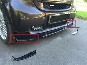 Two Front Spoilers For Bumper Protection Fits Smart Fortwo All And Brabus