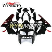 Black Red Lowers For Kawasaki 02 03 04 05 06 Zx-12r Zx1200b Motorcycle Fairings