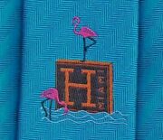 Sweet Hermes Tie Miami Design District Opening Ex Rare Collectors Edition Mint