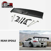 For 987.2 Cayman 09-12 Wide Body Kit Rb Style Rear Trunk Gt Spoiler Wing Frp Kit