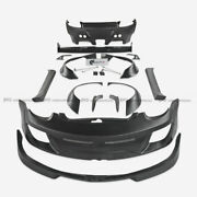 Frp Unpainted Rb Style Full Widebody Bodykits For Porsche 987 Cayman 09-12 Parts