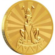 Mickey And Friends Pluto Carnival 1/4 Oz Gold Coin 25 Niue 25 Dollars 2020