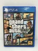 Ps4 Grand Theft Auto V 74058 Japanese Ver From Japan