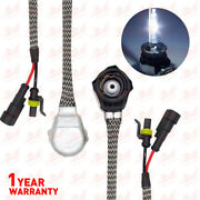 2x D2 D2s D2r D2c Hid Xenon Bulb Adapters Wire Harness Connector Cable Socket