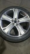 9h3m1007aaw Set Rover Sport 2010-13 20 Oem Wheels And Tires Excellent Used