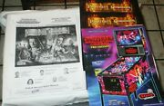 2006 Stern Pirates Of The Caribbean Pinball Manual W/ 2 Pirates Flyers
