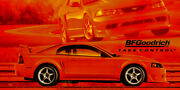 Reproduction Bf Goodrich 2000 Ford Mustang Svt Cobra R Banner 4and039x8and039