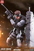 First Four Figure F4f 1/4 Metal Gear Solid Snake Konami Resin Statue Figure- Exc