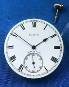 Vintage Elgin Mechanical Movement. Made In The Usa. Work.
