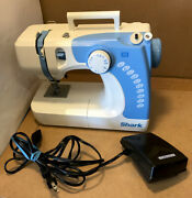 Grade A Shark 612c Sewing Machine With Power Cable + Pedal + Manual
