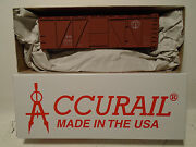Accurail 70149 Ho Scale 40' O.b. Wood Boxcar Boston And Maine New In Box