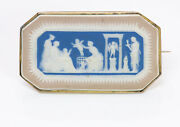 Antique Wedgwood Tri-color Cameo Brooch