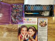 Rainbow Loom Kit Bundle Extra Rubber Bands And Book Jewelry Made Easy