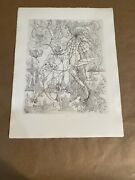 Juliana Seraphim Limited Edition Etching Hand Signed And Numbered Ii