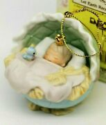 Nib Precious Moments Ornament Let Earth Receive Her King 748390 Cute Baby Jesus