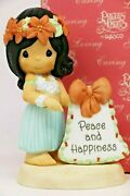 Bnib Precious Moments Ma-holo-day Wishes For You 111413 Chapel Exclusive Rare