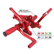 Motorcycle Adjustable Footpegs Rests For Zx-14 Zx-14r Zzr1400 2006-2011