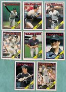 1988 O-pee-chee New York Yankees Team Set 15 - Mint From Vend Case