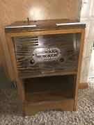 Antique Vintage Motel Bradley Coin Operated Tube Radio Working Meter-matic