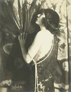 C. 1920's Mabel Ford By James Hargis Connelly Large Photograph