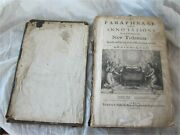 Antique Bible London 1653 Printed By F. Flesher For Richard Royston