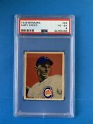 1949 Bowman Andy Pafko 63 Psa 4 Centered