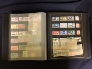 Un Stamp Lot I - 20+ Pages - Loose Stamps In Sleeves