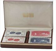 Dai Vernon 1982 Birthday Limited Special Edition Card With Wooden Box