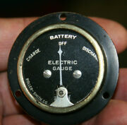 Smith-roller Vintage Battery Electric Charge Discharge Amp Gauge