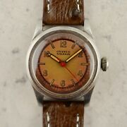 C.1942 Vintage Rolex Oyster Raleigh Military Wwii Watch Ref.3457 Cal.59 In Steel
