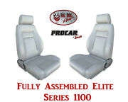 Procar Full Bucket Seats 80-1100-52 Elite 1100 Series For 1978 - 79 Ford Bronco