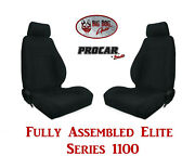 Procar Full Bucket Seats 80-1100-61 Elite 1100 Series For 1978 - 79 Ford Bronco