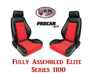 Procar Full Bucket Seats 80-1100-90 Elite 1100 Series For 1978 - 79 Ford Bronco