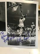 Photograph Willis Reed Signed While Vice President Of The Nets Y603