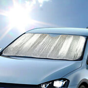 Carxs Reflective Foil Car Sun Shade Standard Reversible Windshield Auto Cover