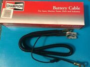 Champion Battery Cable 64200 31 1/2 In 6ga Top Terminal No Lead