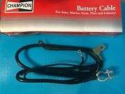 Champion Battery Cable 64153 46 In 4 Ga Top Terminal No Lead