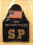 Us Air Force Security Forces Security Police Sp Blue Armband Brassard Packaged