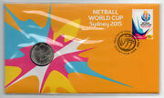 Pnc Cover 2015 20 Cent Netball World Cup In Perfect Condition.