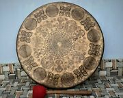 70 Cm Extra Large Tibetan Gong Bell-handmade In Nepal Meditation Sound Therapy
