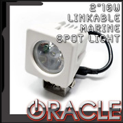 Oracle 2 10w Led Link-able Marine Spot Light